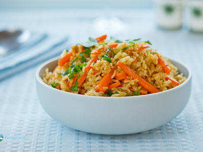 Curried Rice and Carrots