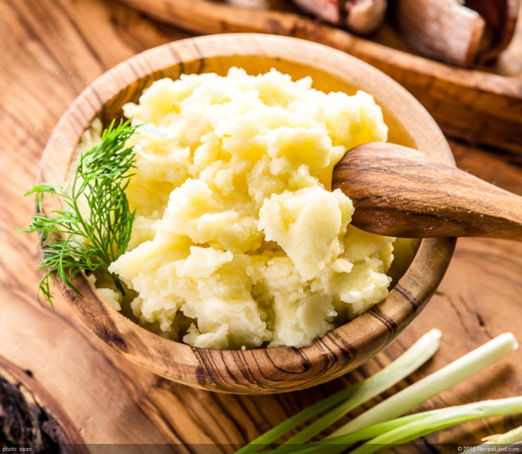 how to make garlic mashed red potatoes