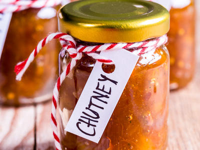Delicious Spicy Mango Chutney