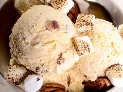 Heavenly Butter Pecan Ice Cream