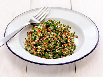 Easy Garlicky Tabouli