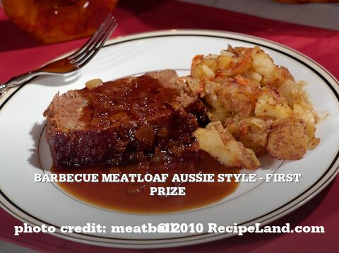 Barbecue Meatloaf Aussie Style - First Prize