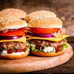 Hot N' Spicy Beef Burgers