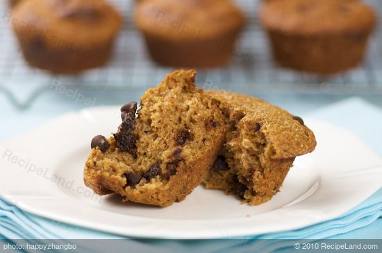 Moist Whole Wheat Pumpkin Muffins Recipe