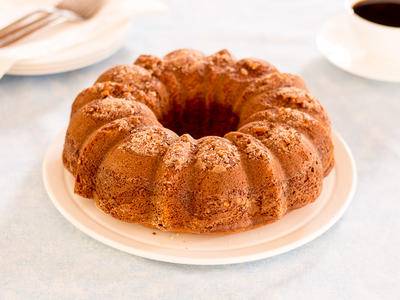 Banana-Sour Cream Coffee Cake