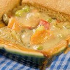 Low-fat Vegetable Pot Pie