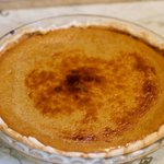 Gloria Moss Old Fashioned Pumpkin Pie