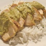 Chicken Breasts in Poblano Sauce