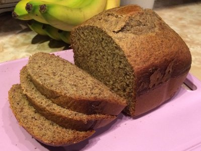 Richards Banana Flax Bread