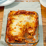 Easy Leftover Turkey Lasagna