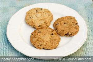 Low Calorie Low Fat Chocolate Chip Cookies (revised even lower)