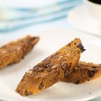 Holiday Cherry and Rum Biscotti