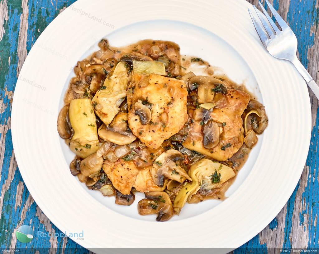 Chicken Angelo Recipe Recipeland Com