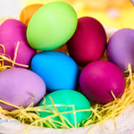 Easter Egg Dye with Color Chart