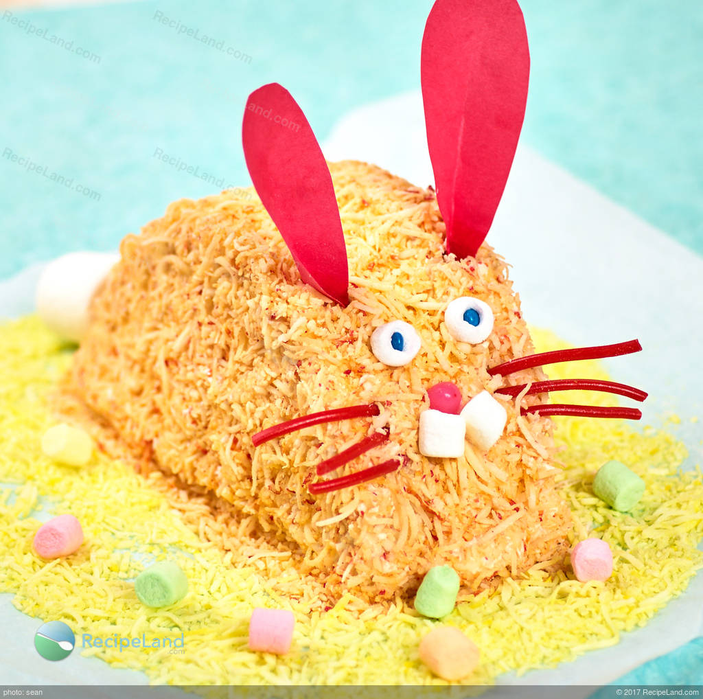 easter pink easy bunny cake recipe