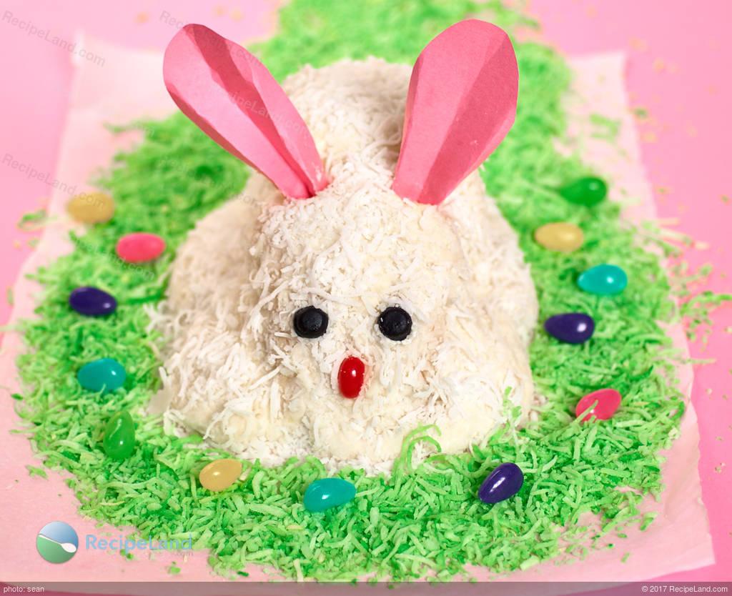 White Easter Bunny Cake Recipe