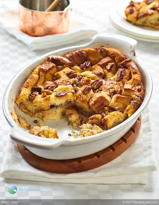 Lazarus Bread Pudding With Whiskey Sauce