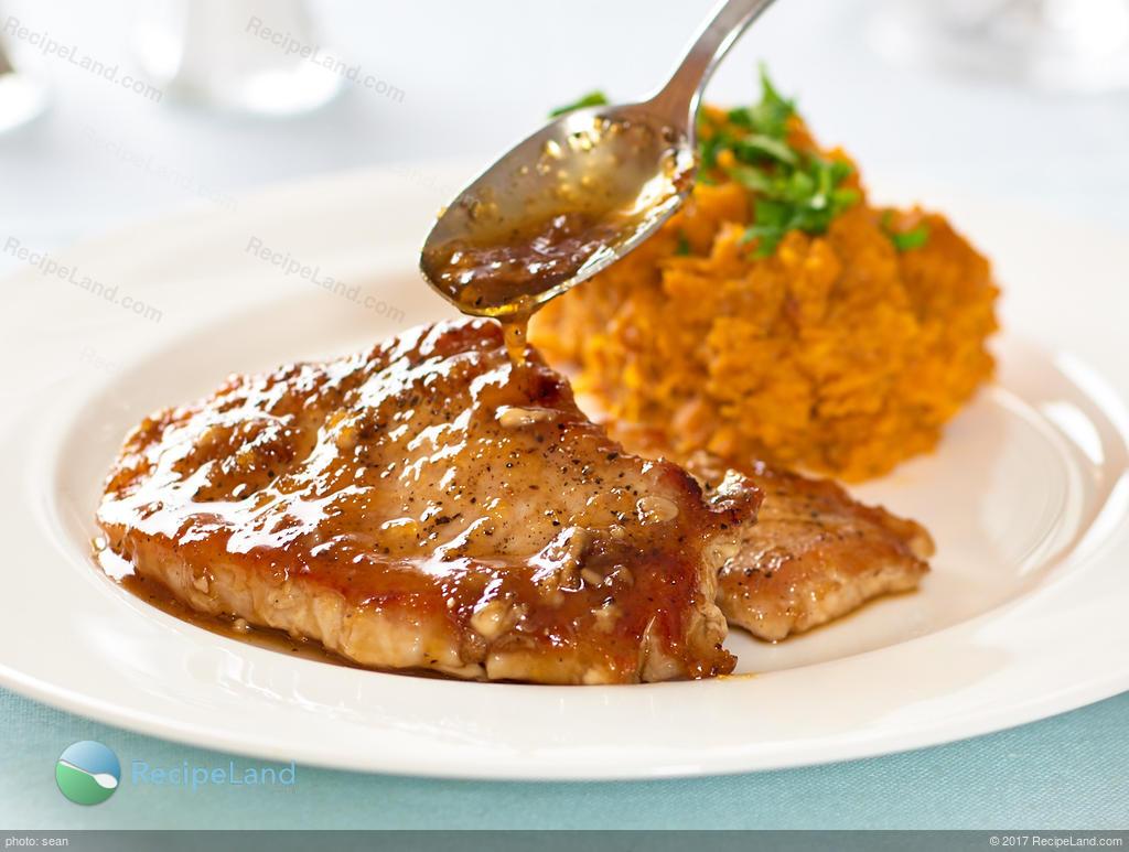 Asian glazed pork chops recipes