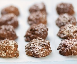 Chocolate, Coconut and Pecan Meringue Bites