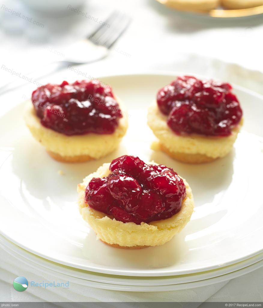 Petite Cherry Cheesecake Recipe