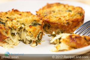Potato Latke Muffins