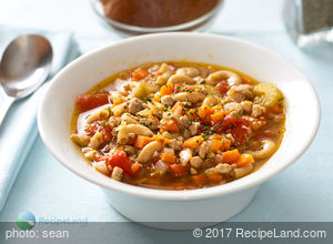 Hearty Vegetable and Pork Soup