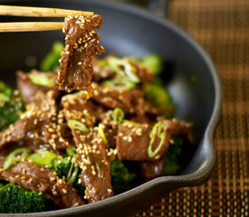 Sesame Beef Strips