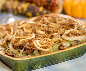 Classic Green Bean Casserole-Low Fat and Low Calorie