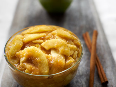 Cooked Apple Pie Filling