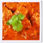 Delicious spicy Thai Red Curry Chicken