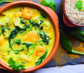 Healthy Seafood Curry