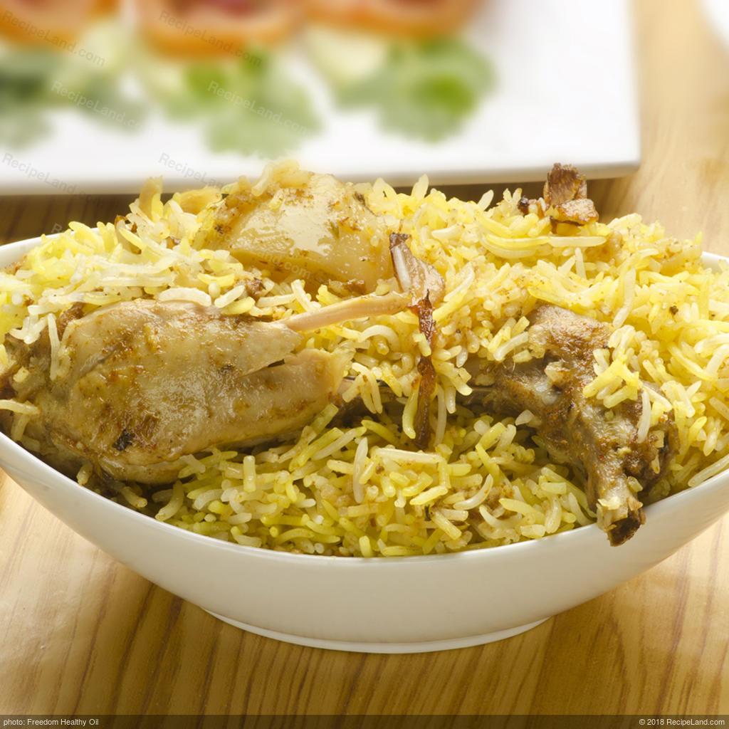 Indian Non Veg Recipe Chicken Biryani