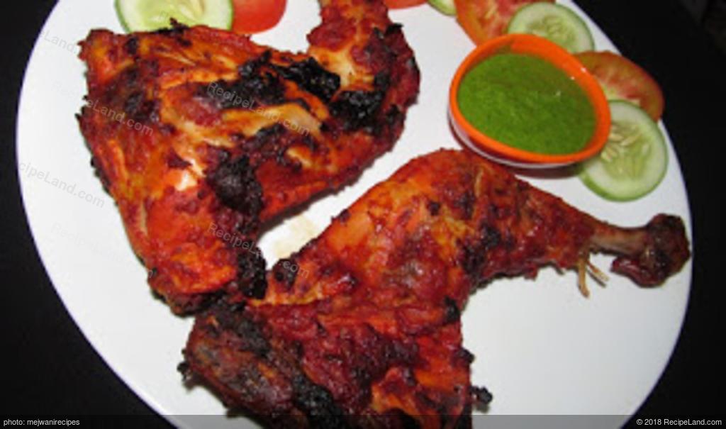 Spicy Tasty Chicken Tandoori Recipe