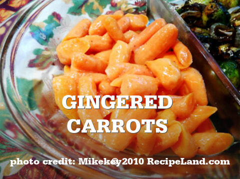 Gingered Carrots