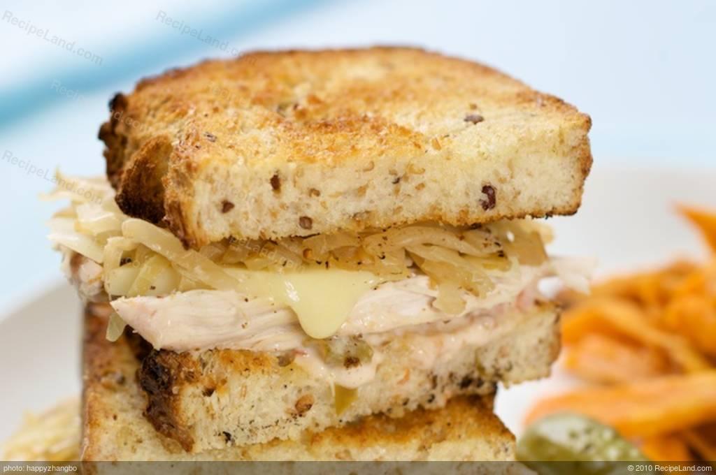 Turkey Reuben Recipe   RecipeLand.com