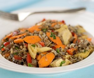 Wild Rice and Artichoke Salad