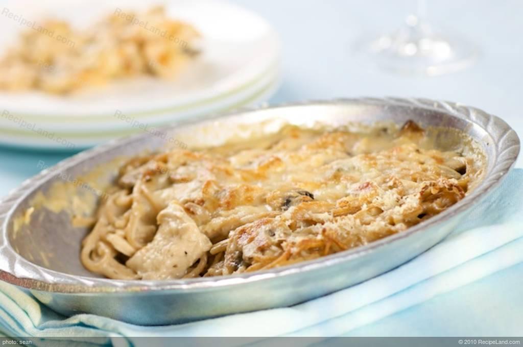 Lowfat Turkeychicken Tetrazzini Recipe