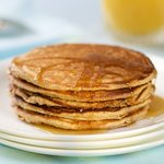 Buttermilk Whole Wheat Pancakes with Orange Zest