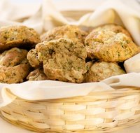 Cheesy Whole Wheat Herb Biscuits