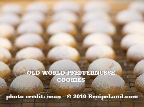 Old World Pfeffernusse Cookies