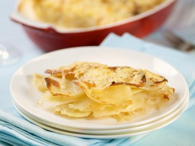 Au Gratin Turnips and Potatoes