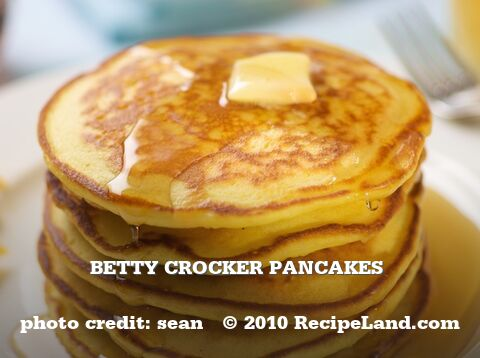 Betty Crocker Pancakes