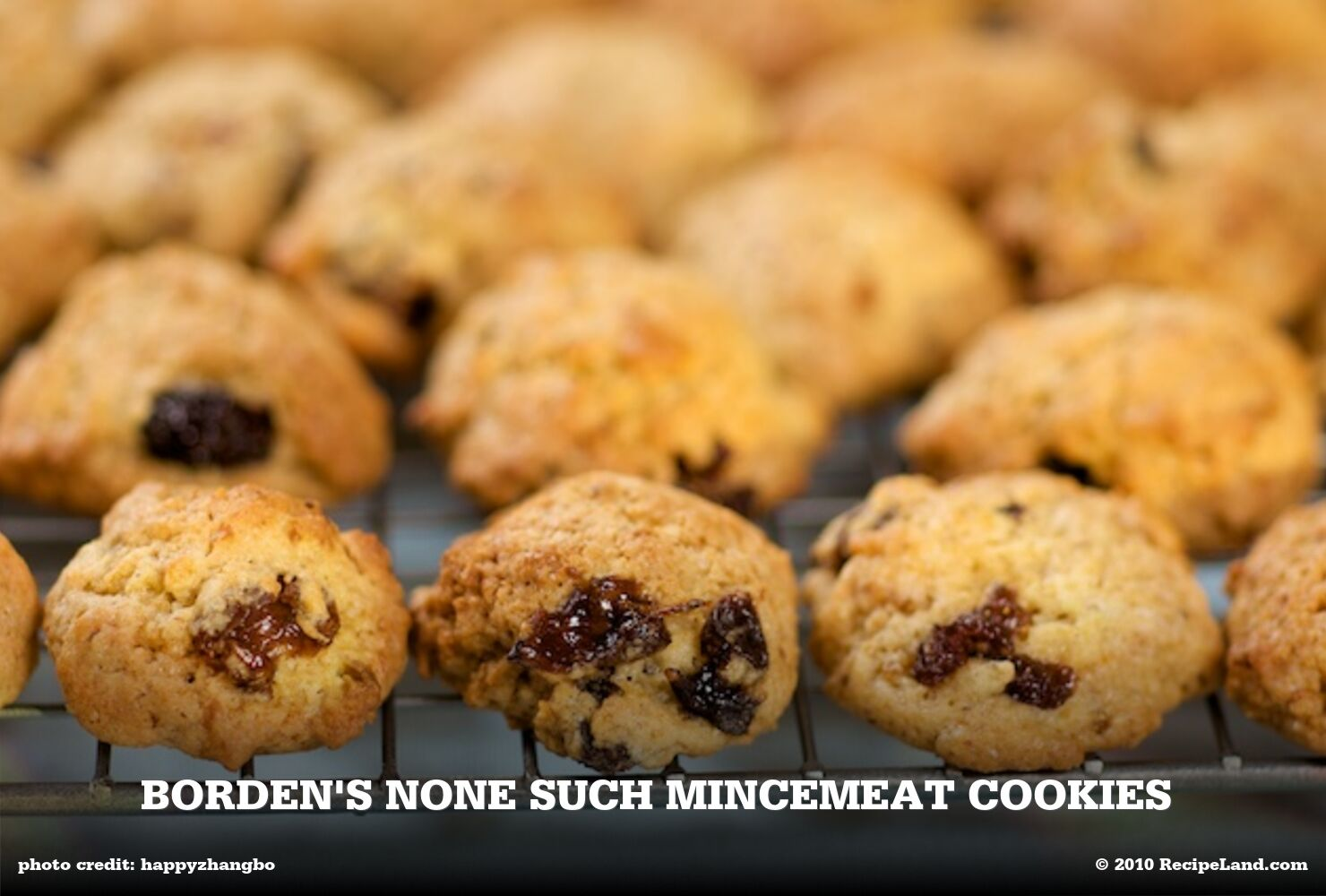 Borden's None Such Mincemeat Cookies