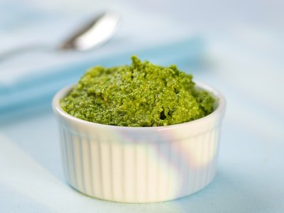 Asiago Spinach Pesto