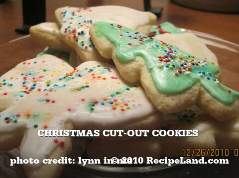 Christmas Cut-Out Cookies