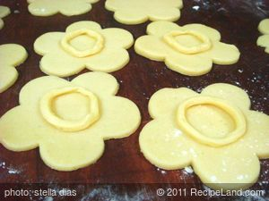 Homemade Flower Cookies