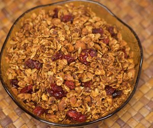 Cranberry and Almond Granola