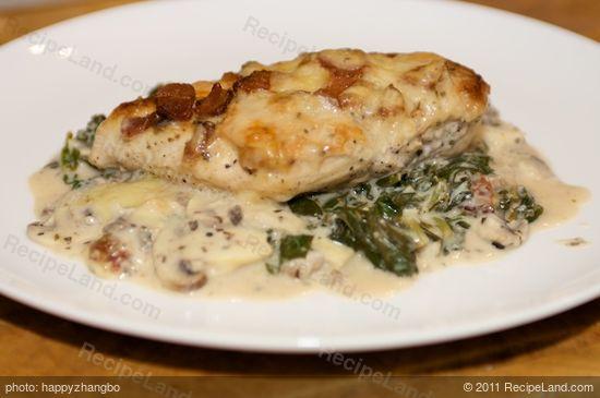 Chicken Florentine Casserole recipe