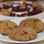 Cranberry, Orange and Nut Cookies