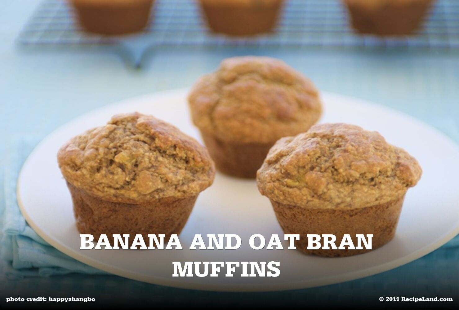 Banana and Oat Bran Muffins